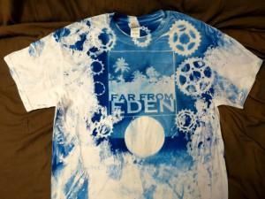 cyanotype tshirt